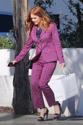 Isla Fisher Style - Leaving Milk Studio in Hollywood