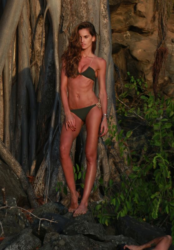 Izabel Goulart - Photoshoot at Fernando de Noronha