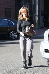 Jaclyn Smith Street Style - Out in Beverly Hills 12/29/2017
