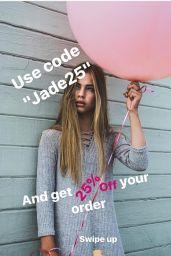 Jade Weber - Social Media, December 2017