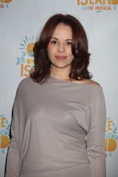 """Janet Dacal – """"Once On This Island"""" Broadway Opening Night in New York City"""