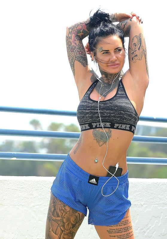 Jemma Lucy is Working Out - Gran Canaria 12/27/2017