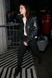 Jenna Coleman at BBC Radio 2 in London 12/21/2017