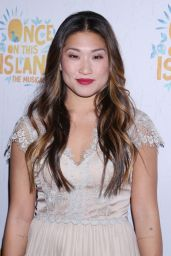 "Jenna Ushkowitz – ""Once On This Island"" Broadway Opening Night in New York City"