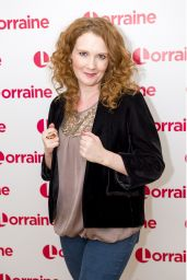 Jennie McAlpine - Lorraine TV Show in London 12/14/2017