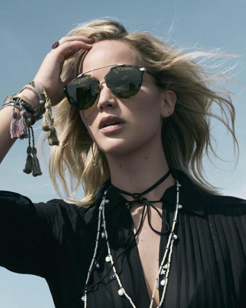 Jennifer Lawrence Photoshoot For Dior