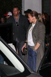 Jennifer Lopez at Cecconi