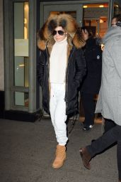 Jennifer Lopez - Shops at Hermes at Nellos in NYC