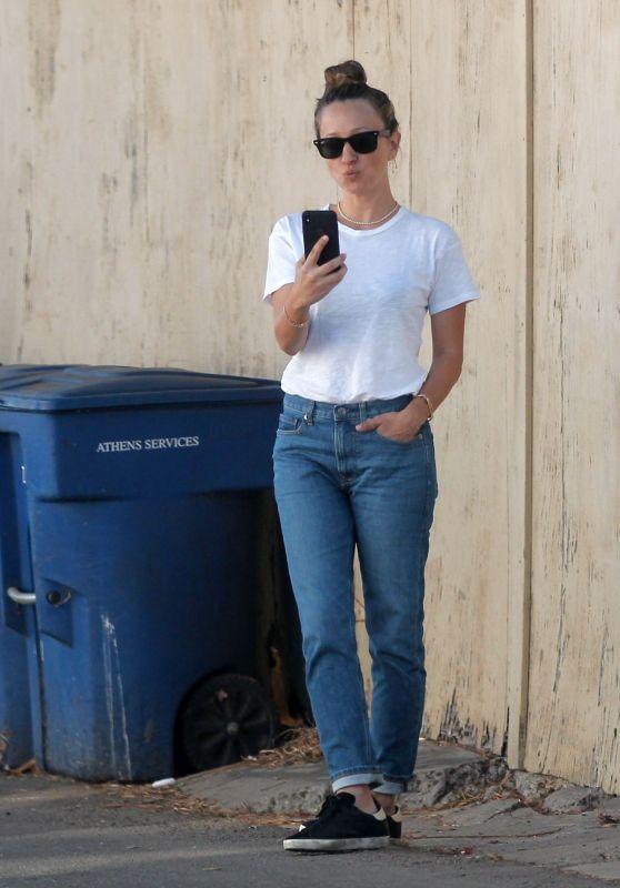 Jennifer Meyer Street Style - Beverly Hills 12/24/2017