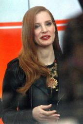 Jessica Chastain - Today Show in New York 12/15/2017