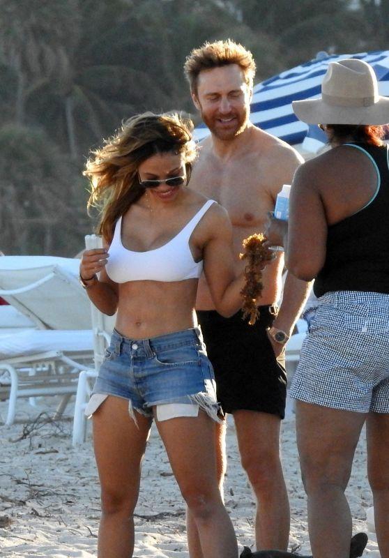 Jessica Ledon on the Beach in Miami