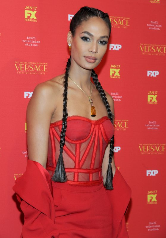 "Joan Smalls – ""The Assassination of Gianni Versace American Crime Story"" TV Show Premiere in New York"