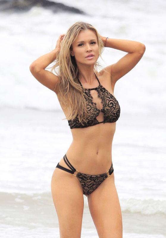 Joanna Krupa Bikini Photoshoot in Malibu 12/09/2017
