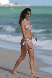 Julia Pereira Bikini Photoshoot - Miami Beach 12/02/2017