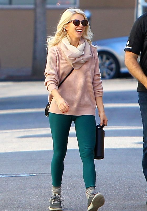 Julianne Hough Getting Lunch With Friend in Studio City