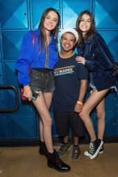Kaia Gerber & Charlotte Lawrence - Bowling For Buddies in Studio City