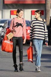 Kaia Gerber Street Style - Shops at Urban Outfitters