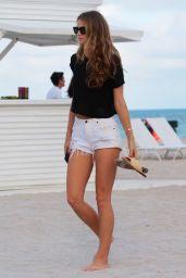 Kate Bock - Beach in Miami Beach 12/08/2017