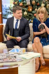 Kate Garraway - Good Morning Britain TV Show in London 12/21/2017