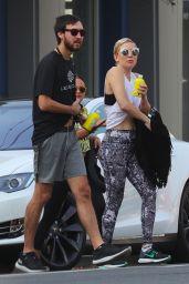 Kate Hudson and Her Boyfriend Danny Fujikawa in Santa Monica