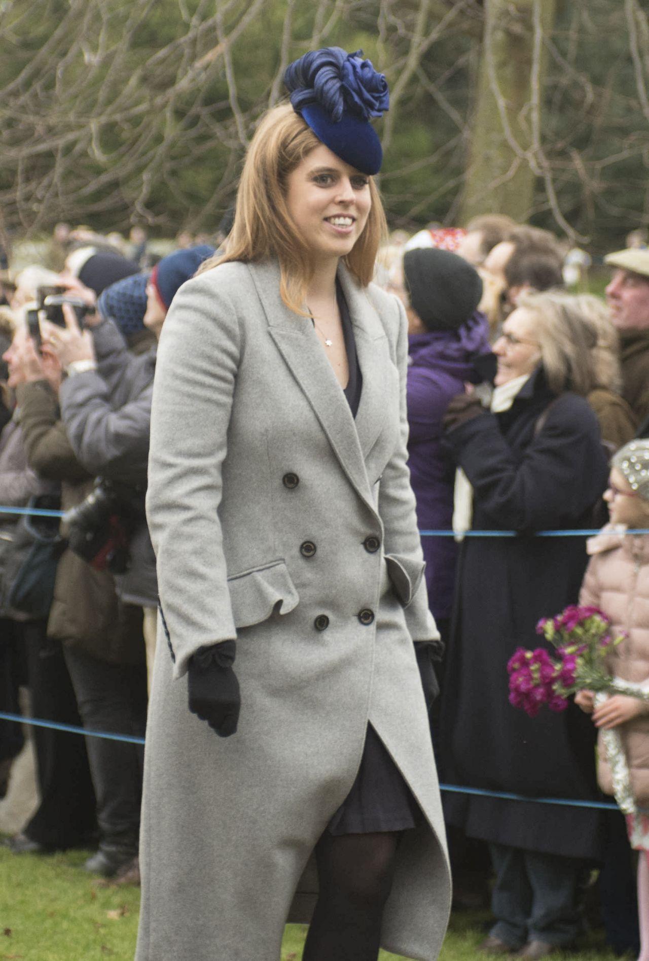 Kate Middleton And The Royal Family Christmas Day
