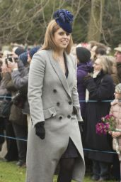 Kate Middleton and the Royal Family - Christmas Day Service in King