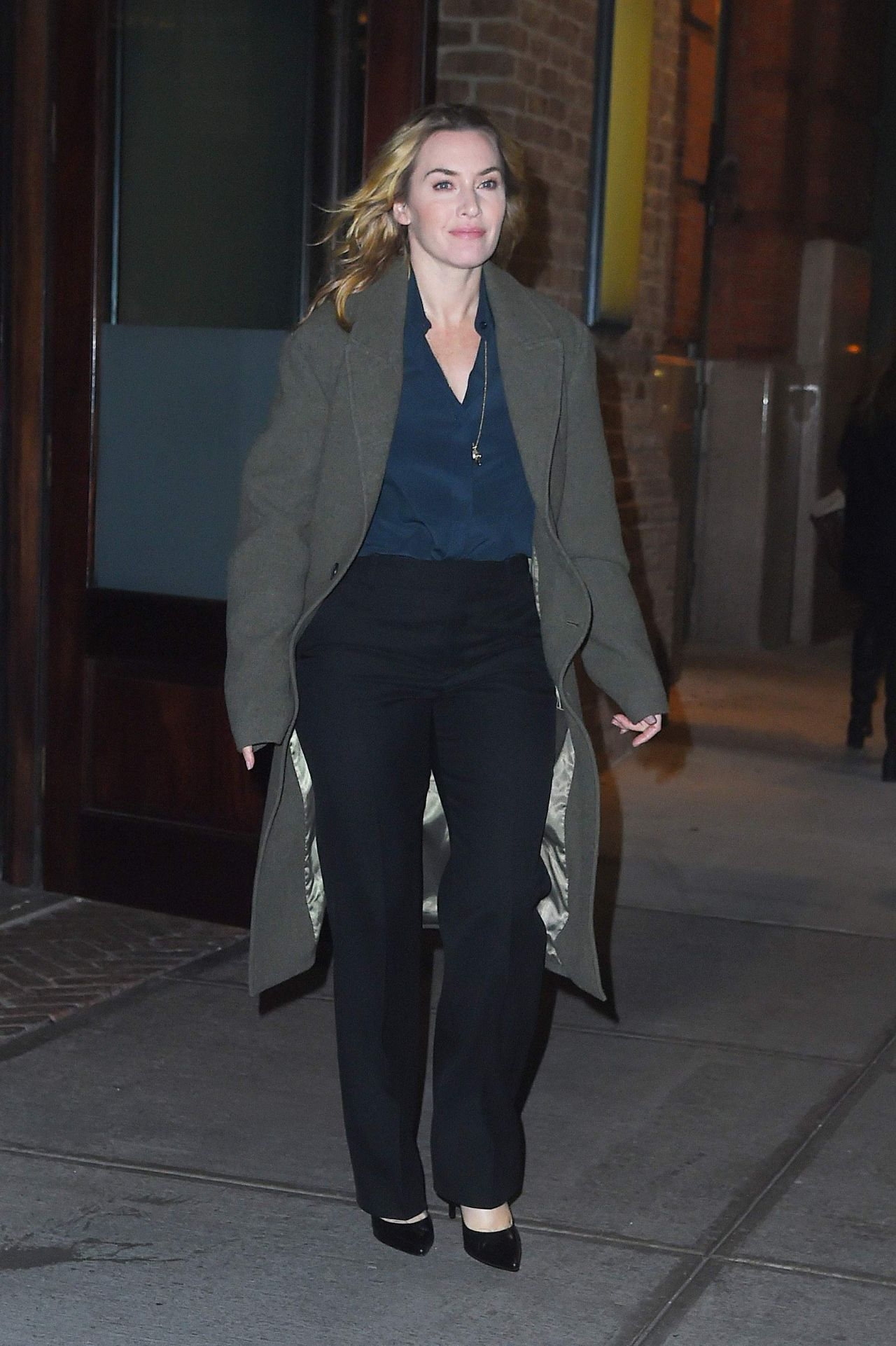 Kate Winslet - Out in New York City 11/30/2017