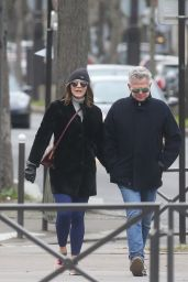 Katharine McPhee and David Foster Take a Romantic Stroll in Paris 12/28/2017