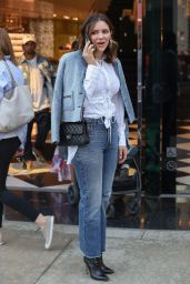 Katharine McPhee at Prada on Rodeo Drive in Beverly Hills