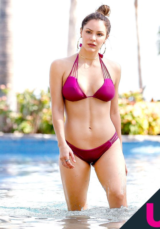 Katharine McPhee in Bikini on Vacation in Mexico