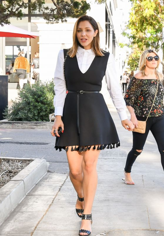 Katharine McPhee Style - Out in Los Angeles 12/08/2017
