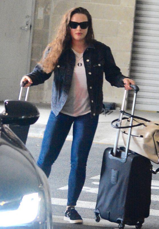 Katherine Langford - Airport in Sydney 12/19/2017