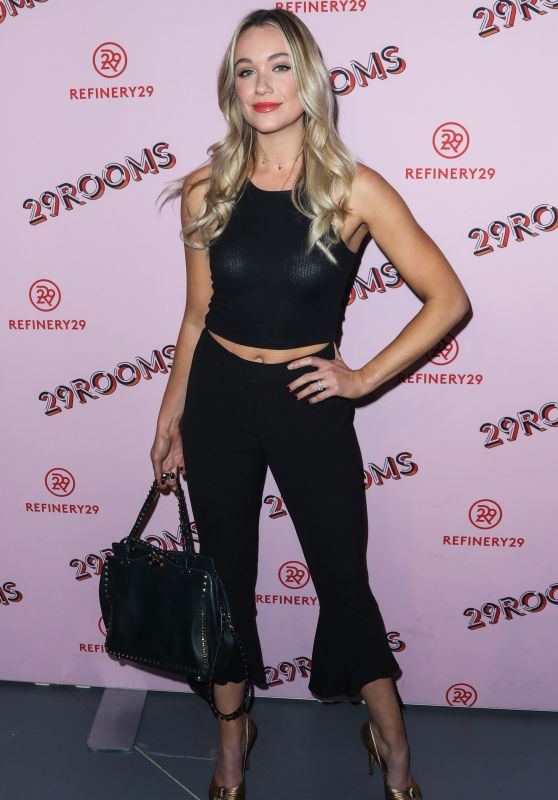 "Katrina Bowden -""Refinery 29: Turn it into Art"" Opening Night in Los Angeles"