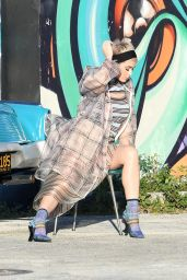 Katy Perry - Photoshoot in the Wynwood Arts District in Miami