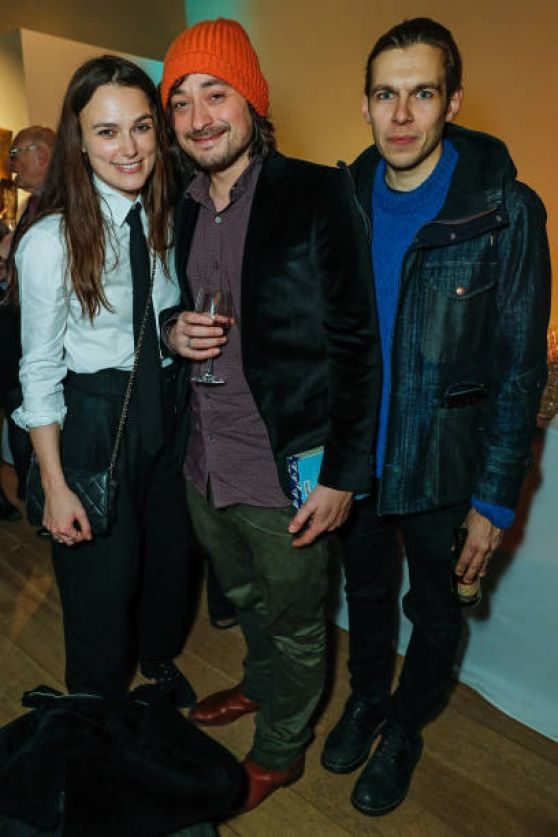 """Keira Knightley - """"The Grinning Man"""" Press Night Afterparty in London"""
