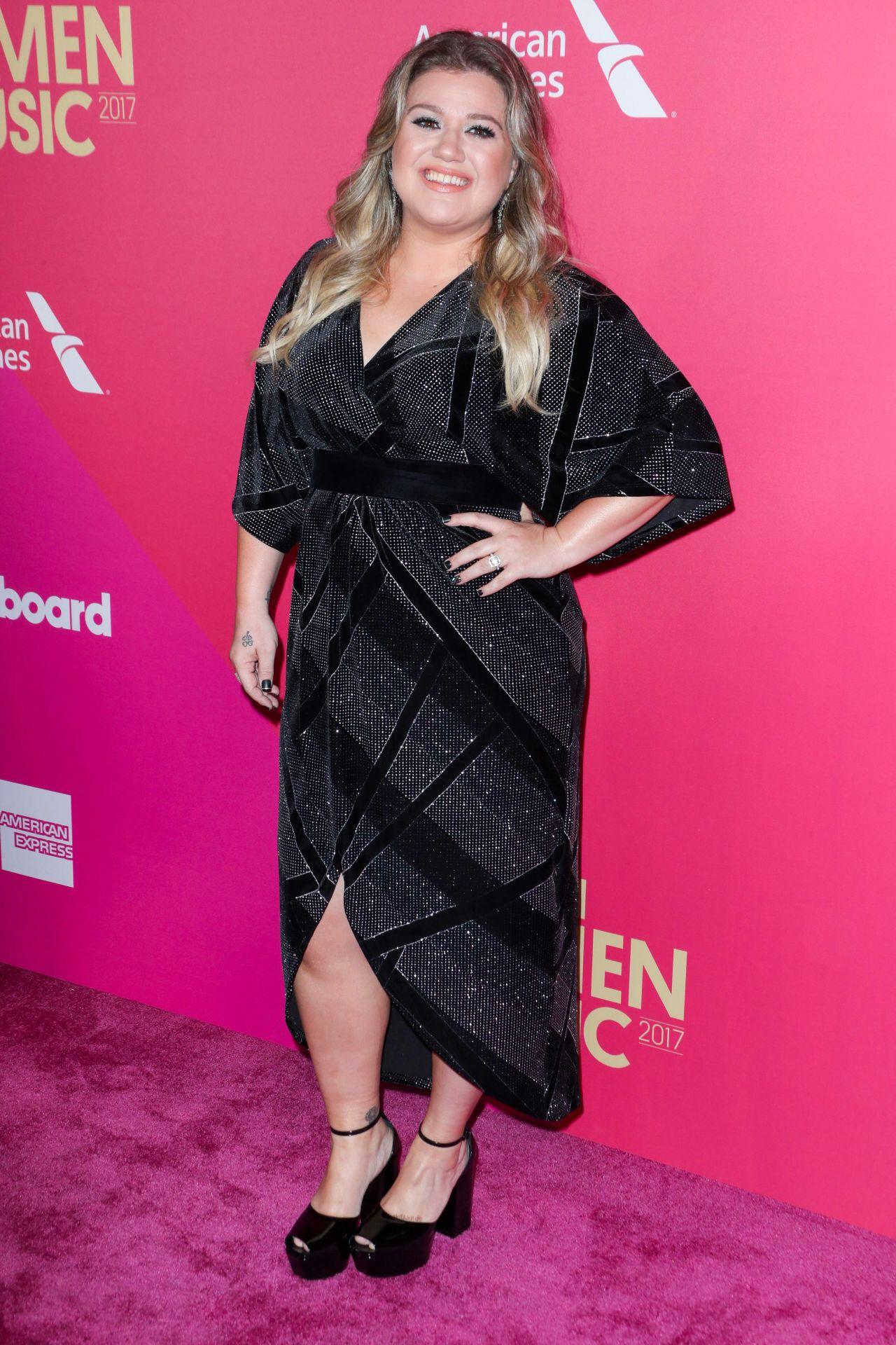 Kelly Clarkson 2017 Billboard Women In Music In La