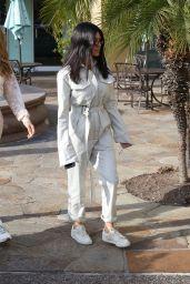Kourtney Kardashian at Rosti Restaurant in Calabasas