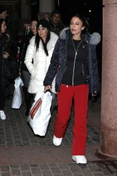 Kyle Richards and Bethenny Frankel Out in Aspen