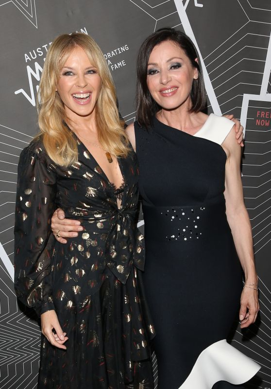 Kylie Minogue and Tina Arena - Australian Music Vault Launch in Melbourne
