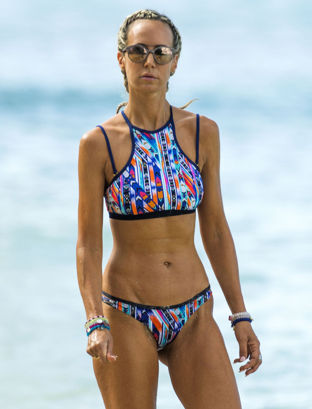 Lady Victoria Hervey in Bikini Boat Party in Barbados