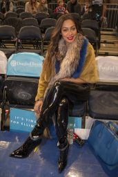 Lala Anthony at Madison Square Garden in NY
