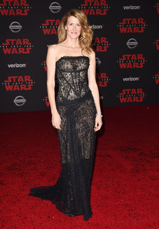 "Laura Dern – ""Star Wars: The Last Jedi"" Premiere in LA"