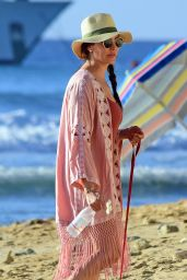 Lauren Silverman in Swimsuit - on the Beachin Barbados 12/09/2017