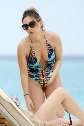 Lauryn Goodman in Swimsuit in Cape Verde