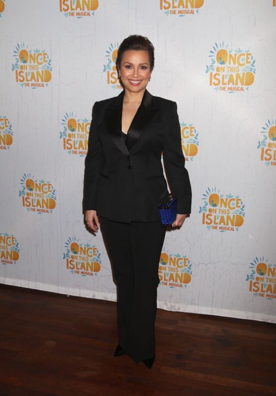"""Lea Salonga – """"Once On This Island"""" Broadway Opening Night in New York City"""