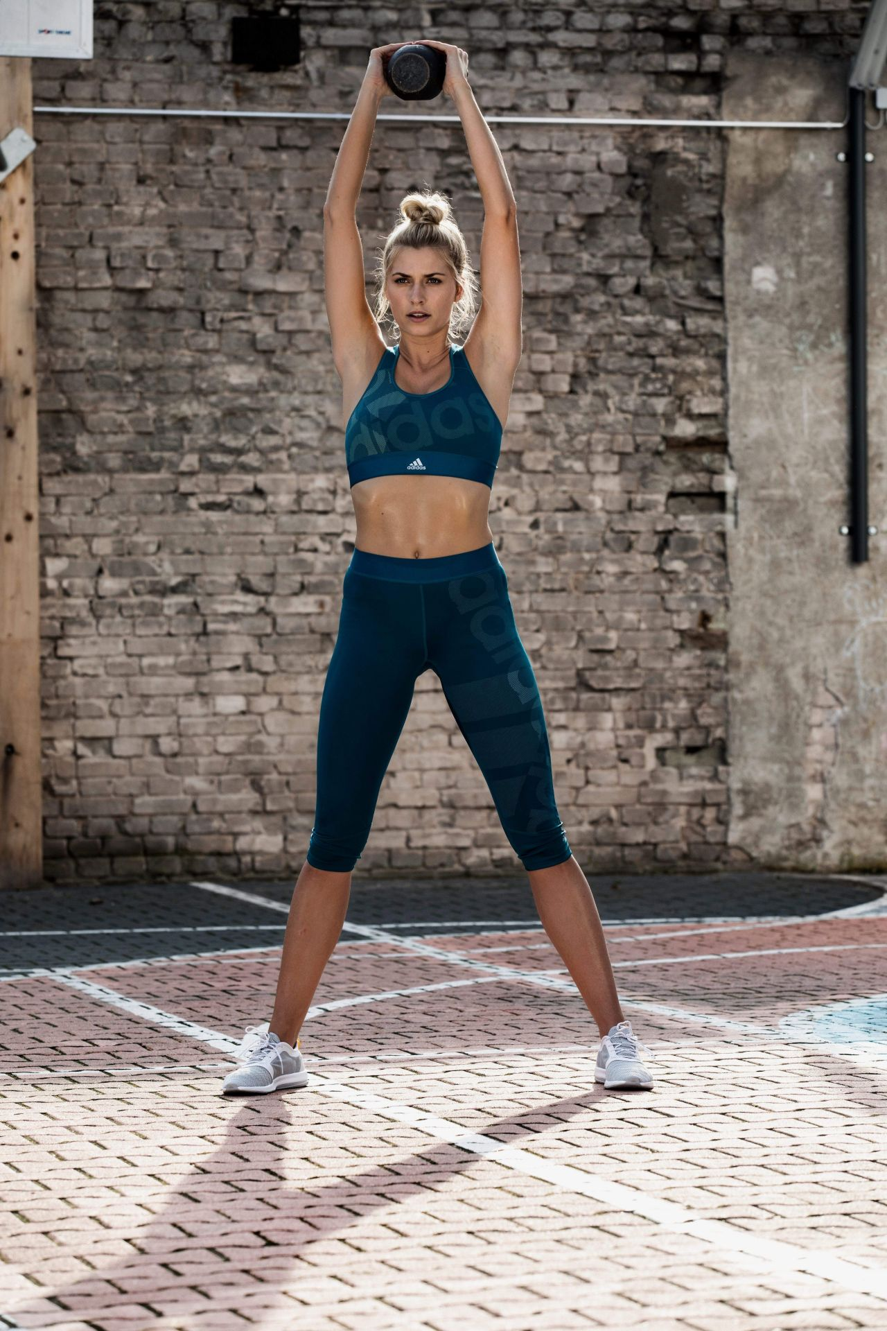 Lena Gercke Call Me An Early Bird Photoshoot For Adidas 2017