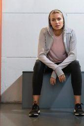 Lena Gercke - Call Me an Early Bird Photoshoot for Adidas 2017