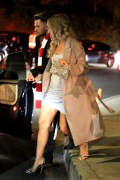 Leona Lewis - Exiting a Holiday Party in Beverly Hills 12/10/2017