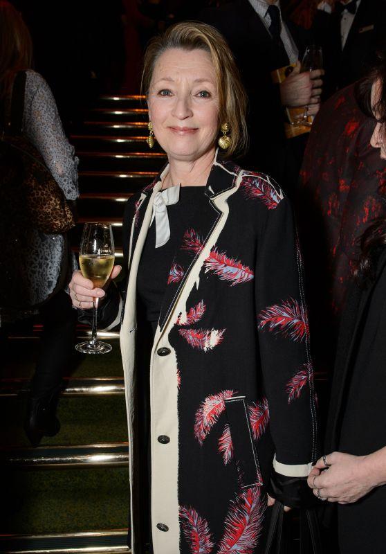 "Lesley Manville – ""Hamilton"" Musical Press Night in London"