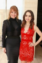 Lily Collins – THR's 2017 Women In Entertainment Breakfast in LA